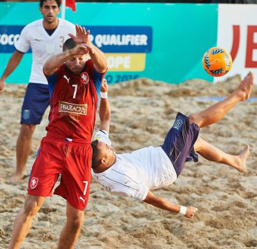 Jesolo, Italy - September, 07Fifa Beach Soccer World Cup Qualifier Europe Jesolo 2016 at Lido Jesolo on September 07, 2016 in Jesolo, Italy. (Photo by Lea Weil)