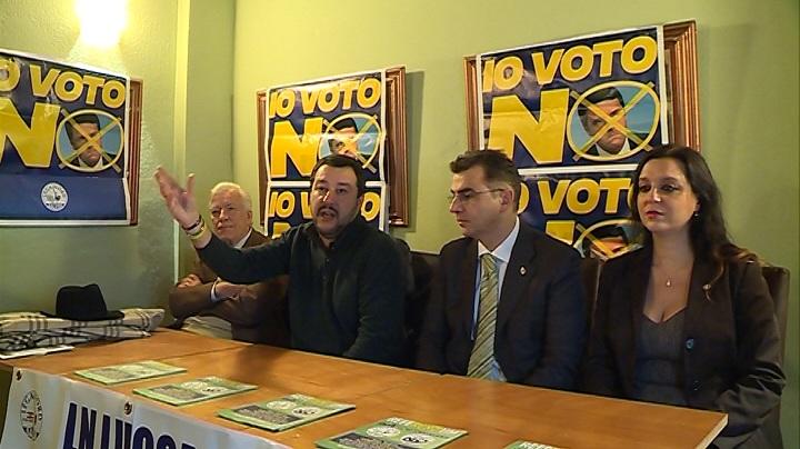 Verso il referendum: Salvini venerdì in Liguria, clou a Genova