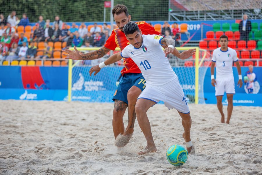 Mondiali beach soccer, Italia-Svizzera 5-4: Azzurri in semifinale